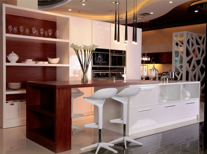 All Materials Of Integrated Kitchen Cabinet, Woods With Natural Colors,  Easy Clean Countertops, Glass Fronted Cupboards, Help To Create Your  Timeless, ...